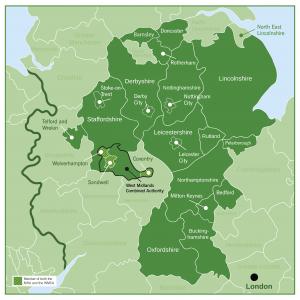Map of MHA members